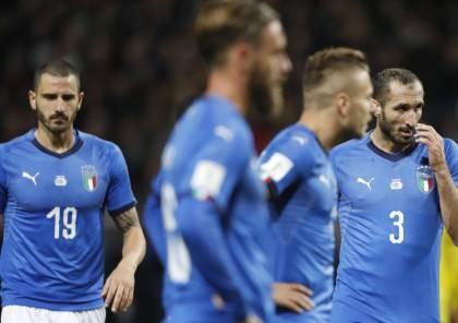 فيديو.. إيطاليا تتعادل أمام السويد وتغيب عن كأس العالم