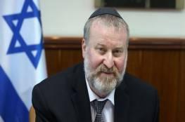 """اسرائيل:""""مندلبليت"""" يطالب نتنياهو وغانتس بتعيين وزير للعدل"""
