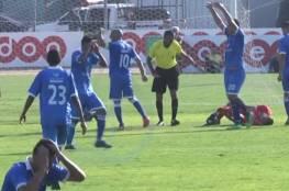فيديو: إصابة مروّعة للاعب فلسطيني في غزة تخطف القلوب