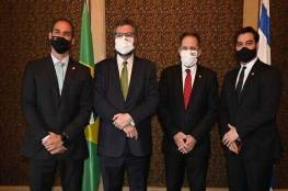 وفد برازيلي يصل إسرائيل لتعاون مشترك لمكافحة كورونا
