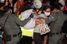 تظاهرات ضد نتنياهو في أنحاء متفرقة بإسرائيل... فيديو