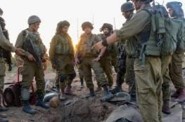 """جيش الاحتلال يكشف عن النفق """"الاستراتيجي """" الذي دمره الليلة في قطاع غزة"""
