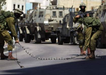 اغلاق مدينة قلقيلية بحواجز عسكرية مشددة