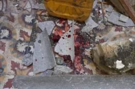 صور: وفاة شابة وإصابة أخرى جراء انهيار سقف منزل كانتا بداخله في خانيونس