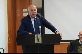 الرجوب لوفد إسرائيلي: أي خطوة لتنفيذ صفقة القرن ستؤدي لتصعيد وإشعال للأوضاع