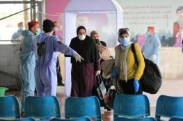 صور.. الداخلية بغزة: بدأنا باستقبال 142 مواطنًا من العالقين في الأردن