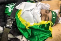 بدء تشييع جثمان القياديين في حماس عمر البرغوثي وعدنان أبو تبانة..صور