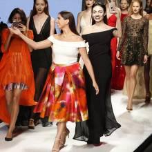 أول عارضة أزياء إماراتية على منصات الموضة العالمية!