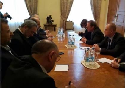 بدء اللقاء الأول بين وفد حماس ومسؤولين روس في موسكو