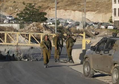 الاحتلال يعيق حركة المواطنين شمال غرب نابلس