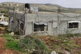 قريوت: إخطارات لوقف البناء في 4 منازل