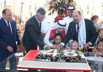 ابو ظبي: فندق باب القصر  يحتفل باليوم الوطني ال 48