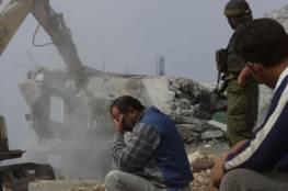 """""""أوتشا"""": 506 منزلًا في الضفة هدمها الاحتلال منذ بداية العام"""