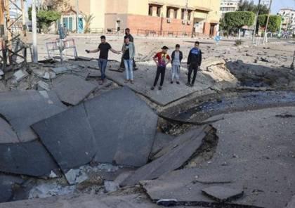 بلدية غزة تحذر من استمرار توقف مشاريع البنية التحتية