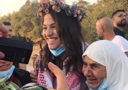 الاحتلال يفرج عن الأسيرة ليان كايد من نابلس