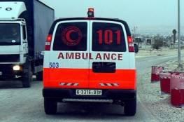 إصابة 9 مواطنين بحادث سير شرق بيت لحم
