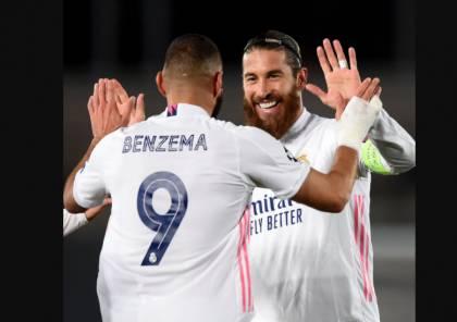 نتيجة مباراة ريال مدريد ضد أتالانتا في دوري أبطال أوروبا 2021