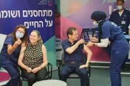 فيديو : الرئيس الإسرائيلي مع زوجته يتلقى جرعة ثالثة من اللقاح المضاد لكورونا