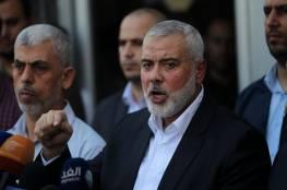 هنية : تفاهمات غزة يمكن ان تنهار اذا استمر التوتر داخل سجون الاحتلال