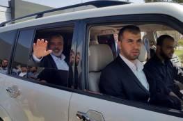 """مصادر: هنية سيزور موسكو لمناقشة """"المصالحة"""" الفلسطينية وصفقة ترامب"""""""