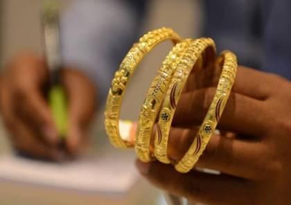ارتفاع ملحوظ على بيع مصاغ الذهب بالضفة الغربية جراء الازمة المالية