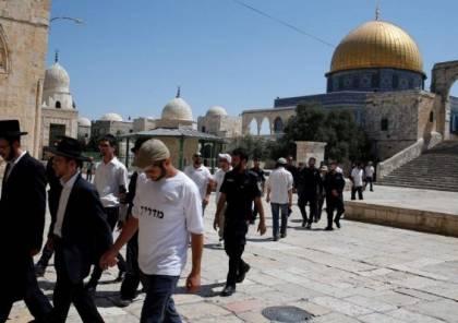 """25 مستوطنا يقتحمون """"الأقصى"""" بحماية شرطة الاحتلال"""