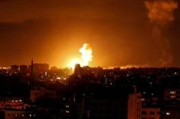 طائرات الاحتلال تقصف مواقع تابعة للمقاومة في قطاع غزة..فيديو