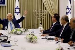 القائمة المشتركة تبلغ الرئيس الإسرائيلي ان توصيتهم على غانتس لا تضم نواب التجمع