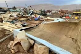 """""""أوتشا"""":إسرائيل هدمت أو صادرت 178 من المباني بالضفة منذ مطلع العام"""