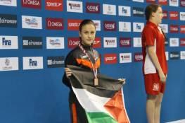 """السباحة الفلسطينية دانيا نور تودع """"أولمبياد طوكيو 2020"""""""