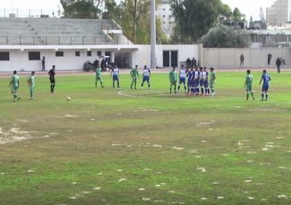 """فيديو.. التعادل السلبي يحسم موقعة """"ديربي"""" غزة"""