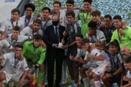 فيديو.. ريال مدريد يتوج بدوري أبطال أوروبا للشباب للمرة الأولى في تاريخه