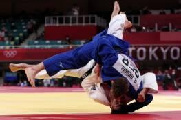 لاعب الجودو الفلسطيني وسام ابو ارميلة يودع أولمبياد طوكيو مبكرا