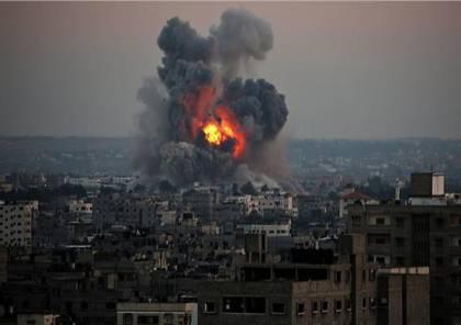 اصابة مواطن وزوجته بجراح خطيرة .. جيش الاحتلال : قصفنا 100 هدف في قطاع غزة