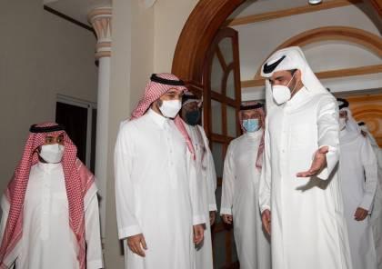 الأولى منذ 2017.. وزير الرياضة السعودي يزور الدوحة