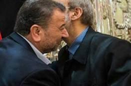 كبار القادة الإيرانيين يفرشون السجاد الأحمر أمام وفد حماس في إيران