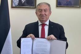 العسيلي: توقيع اتفاق مع الصين لتطوير الاقتصاد الفلسطيني ودعم القطاع الصحي