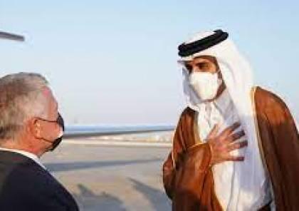 أمير قطر يناقش تطورات الأوضاع في فلسطين مع الملك عبد الله الثاني