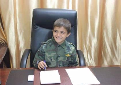 كان يطمح أن يصير شرطيًا.. صور: وفاة طفل مريض بالسرطان في غزة