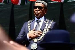 وفاة ملك الزولو غودويل زويليثيني في جنوب إفريقيا