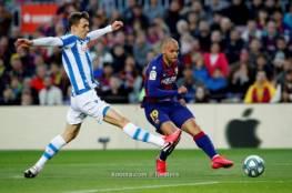 فيديو.. ميسي يمنح برشلونة فوزا شاقا على سوسيداد