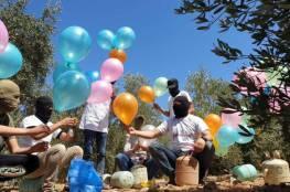 """وحدات """"برق"""" الجهادية تستأنف اطلاق البالونات الحارقة من غزة وتدعو المستوطنين للرحيل الفوري"""