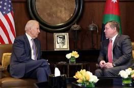 ملك الأردن أول زعيم عربي يلتقي بايدن.. وهذه أبرز الملفات