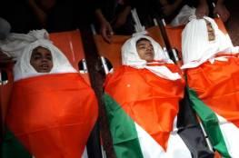 تشييع شهداء غزة الأطفال
