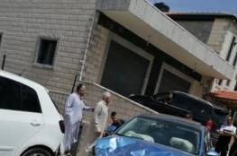 اصابة جراء حادث سير ذاتي تسبب الى اضرار كبير
