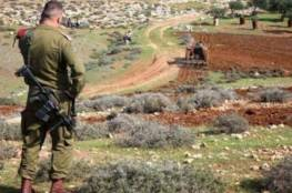 الاحتلال يخطر بالاستيلاء على أرض جنوب نابلس
