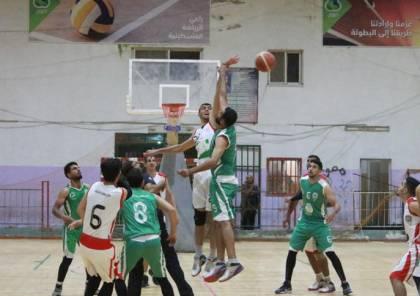 خدمات رفح يتفوق على غزة الرياضي ويحرز المركز الثالث في السلة