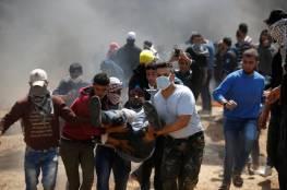 اللجنة القانونية لمسيرات العودة تدين استمرار قوات الاحتلال في استهداف المتظاهرين شرق غزة