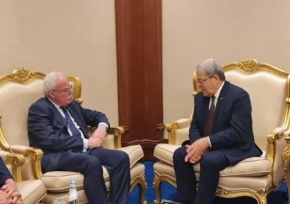 المالكي يلتقي نظيره التونسي على هامش أعمال الاجتماع التشاوري لوزراء الخارجية العرب