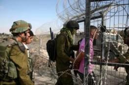 الاحتلال يعتقل 3 مواطنين على حدود غزة